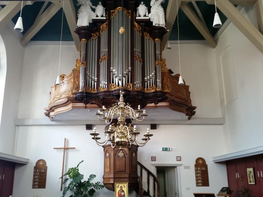 Front orgel ELG Zierikzee